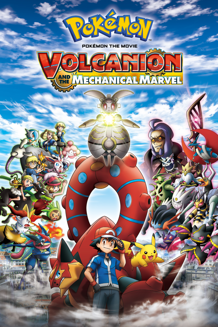 Pokemon The Movie Volcanion And The Mechanical Marvel English Dubbed